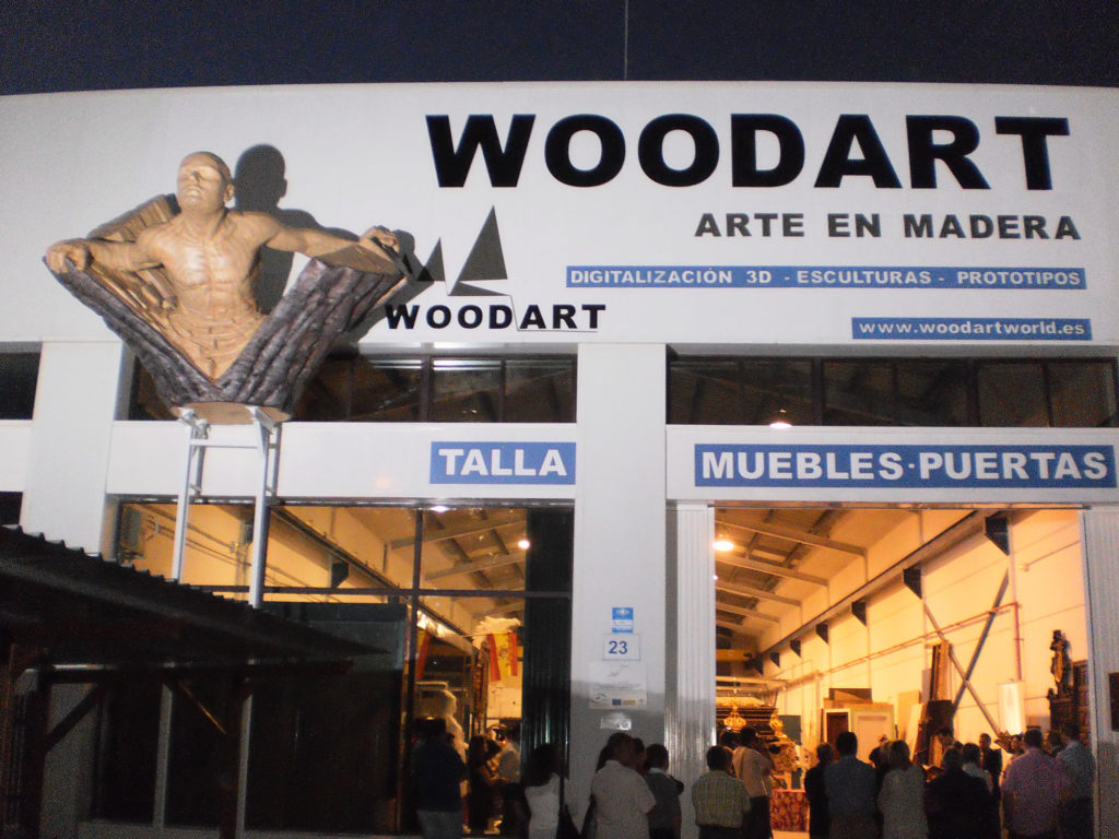 Woodart World - Decoración, diseño, esculturas, mobiliario, digitalización 3d